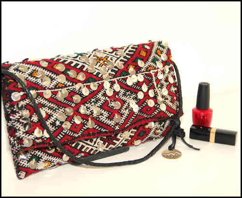 "Marrakchia Kelim Tasche ""clutch"""