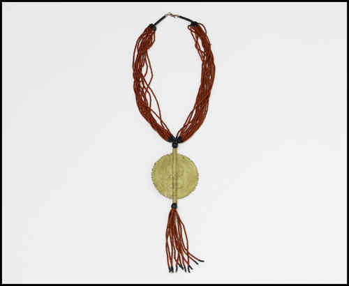 TRADITIONAL ETHNIC NECKLACE WITH PENDANT