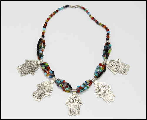 Boho necklace Fatima